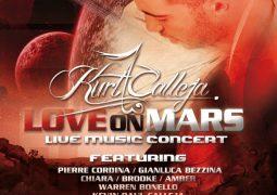 Love on Mars concert in Malta, featuring Kurt Calleja and Gianluca Bezzina