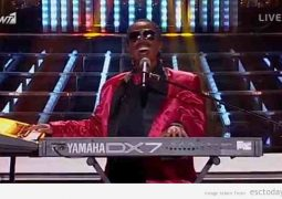 Mando as Stevie Wonder in Your Face Sounds Familiar