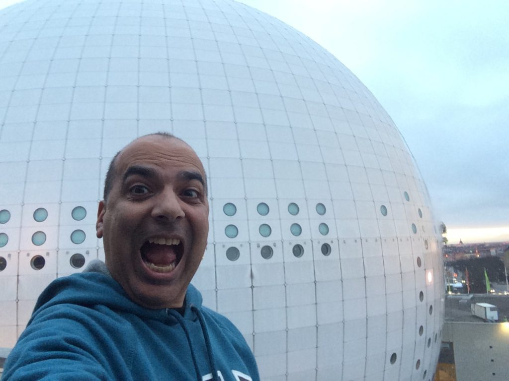 Sergio back in Globen after 16 years!