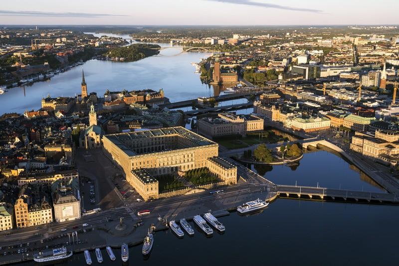 Stockholm aerial view 2- VISITSTOCKHOLM