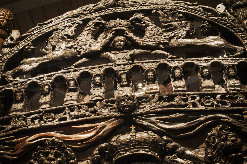 The Vasa Ship- Carved Sculptures