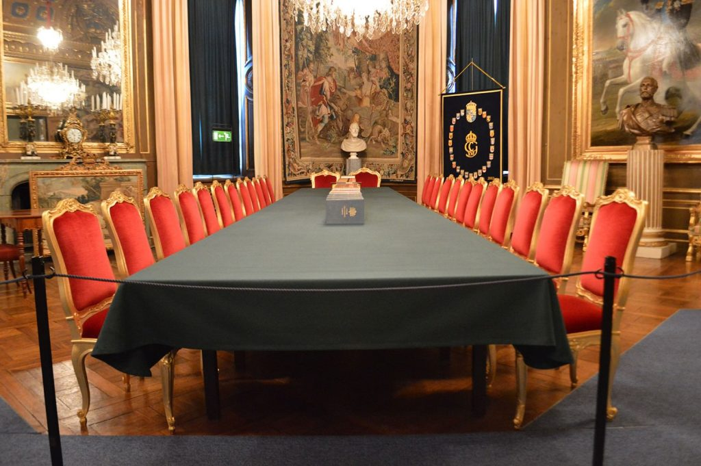 The Royal Apartments- The Banquet Hall