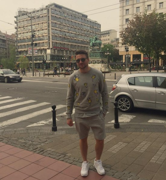 Sergey in belgrade