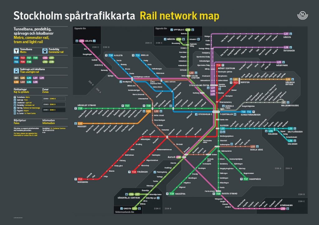 Stockholm-TBana-Transportation-System