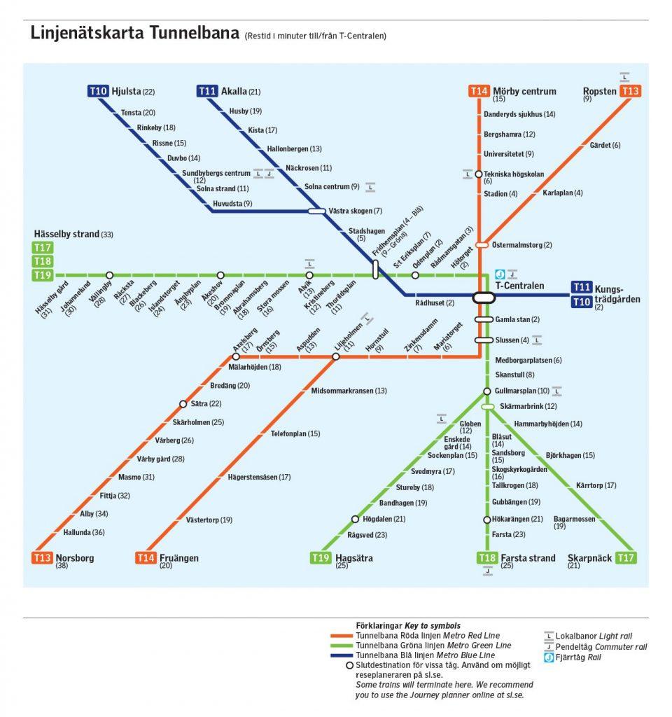 Tub-Stockholm-Map