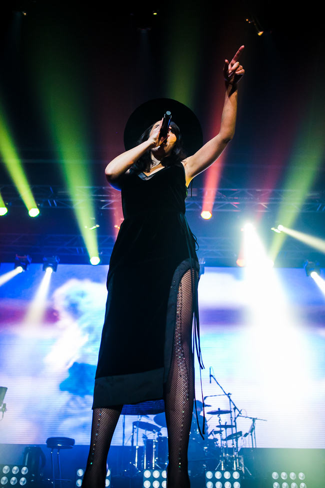 An outfit Jamala wore for her 2014 concert, designed by Ivan Frolov