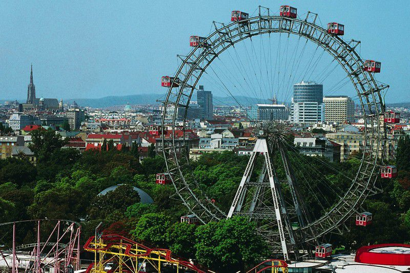Eurovision Discover Vienna: The Prater and the Giant Ferris Wheel -  ESCToday.com