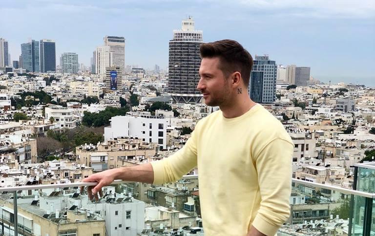 Eurovision Russia: Sergey Lazarev films postcard in Jerusalem